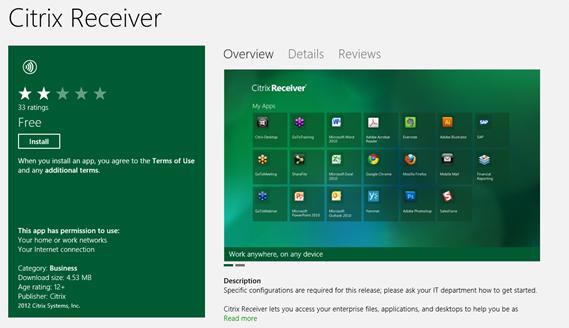 Citrix Receiver Latest Version For Windows 10