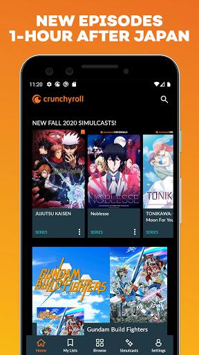 Crunchyroll 2.2.0 screenshots 2