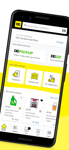Dollar General Digital Coupons DG Pickup amp More screenshots 1