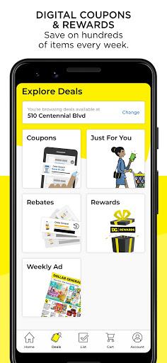 Dollar General Digital Coupons DG Pickup amp More screenshots 2