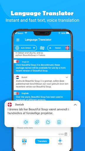 Free Translate – All Language Translation App 1.4.7 screenshots 2