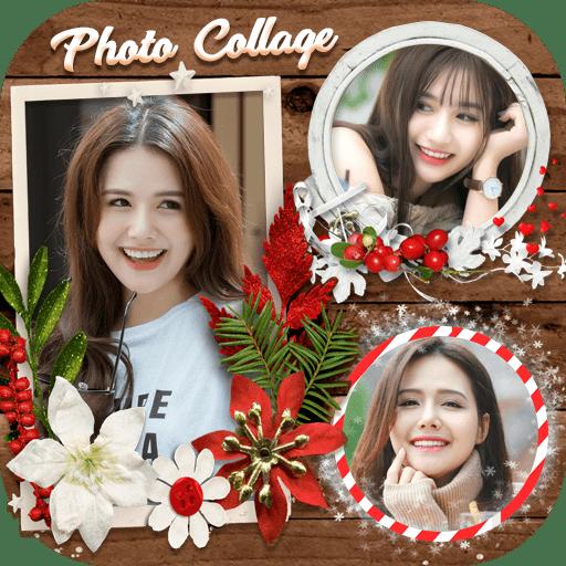 Photo frame, Photo collage logo
