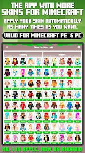 Skins for Minecraft PE amp PC 1.31 screenshots 1